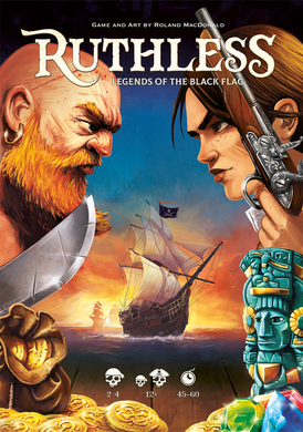Ruthless Legends of the Black Flag Card Game | By Roland MacDonald - Kickstarted Games