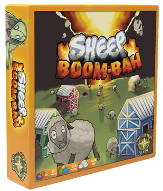 Sheep Boom-Bah Board Game - Kickstarted Games