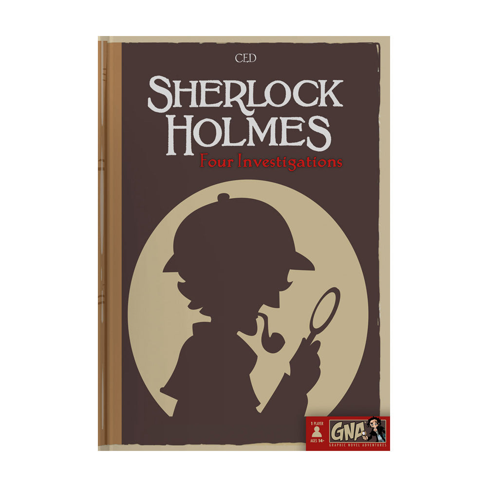 Sherlock Holmes - Pick Your Path Adventure Graphic Novel - Kickstarted Games