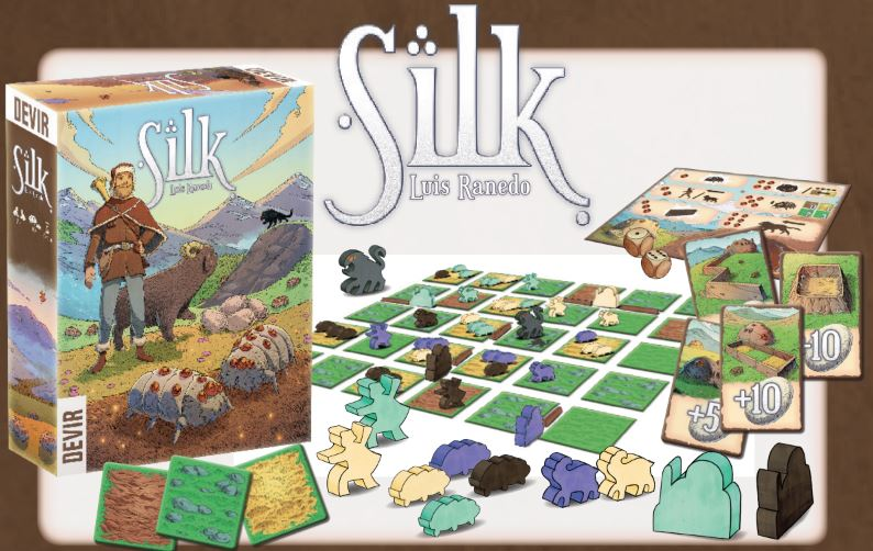 Silk - Kickstarted Games