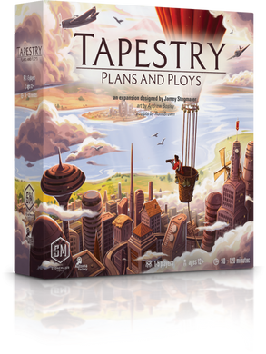 Tapestry: Plans and Ploys Expansion - Kickstarted Games