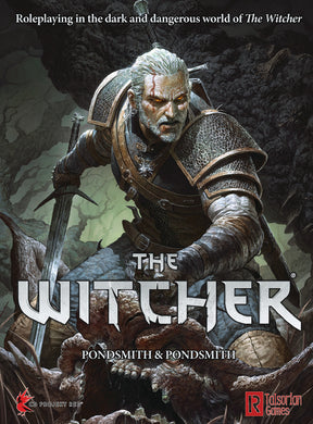 The Witcher TRPG RPG Rule Book - Kickstarted Games