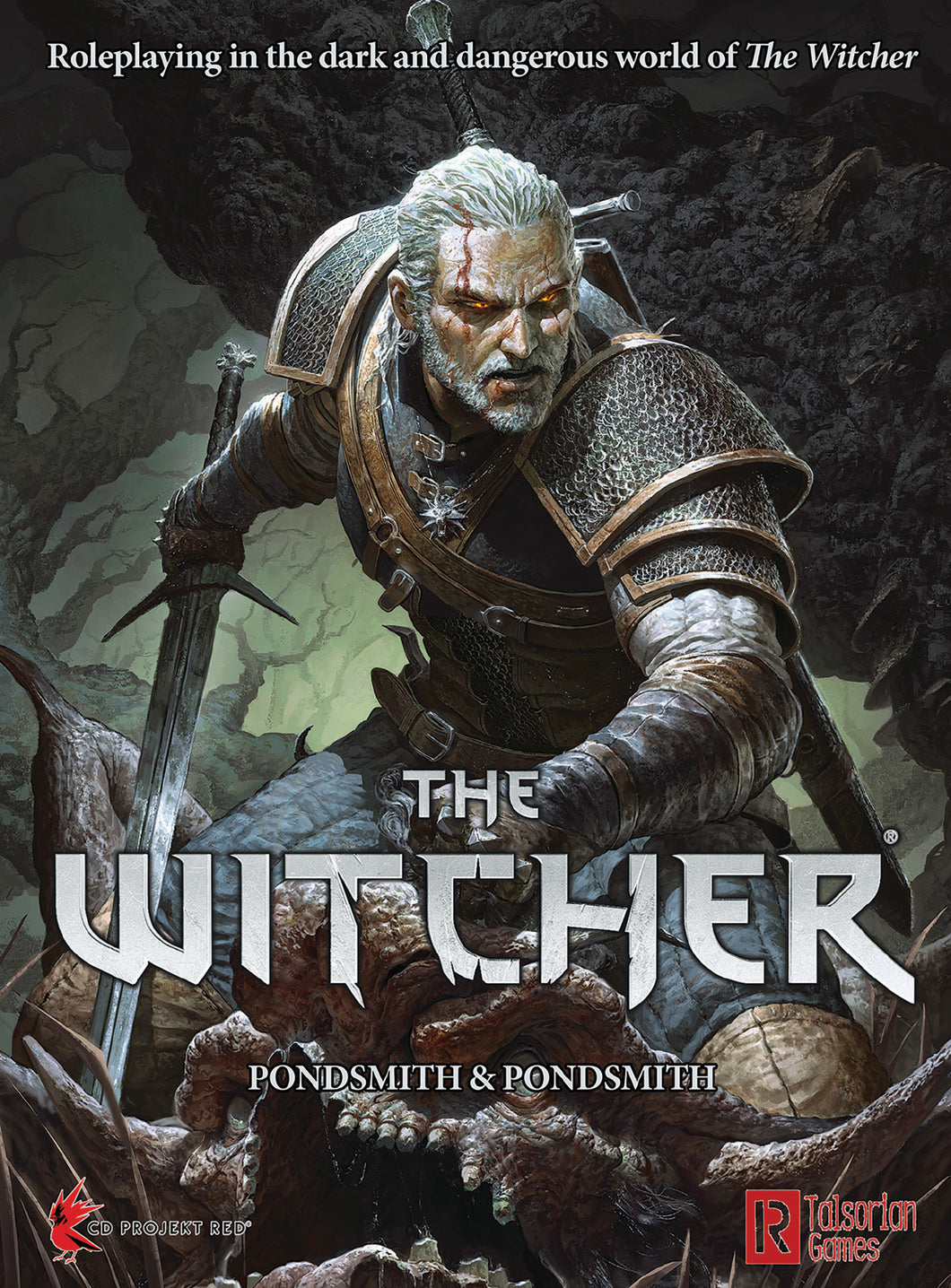 The Witcher TRPG RPG Rule Book
