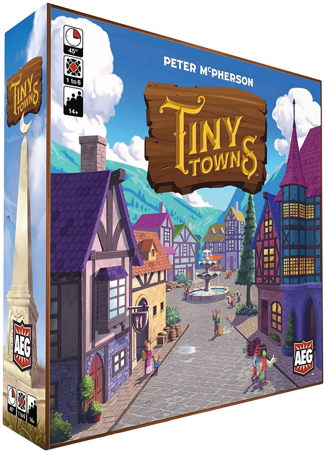 Tiny Towns Board Game - Kickstarted Games