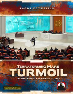 Terraforming Mars Turmoil Expansion | Stronghold Games - Kickstarted Games