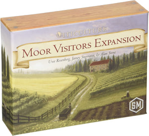 Viticulture Moor Visitors Expansion - Kickstarted Games