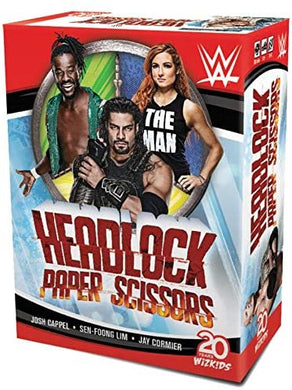 WWE: Headlock, Paper, Scissors Card Game - Kickstarted Games