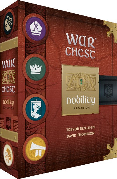 War Chest Expansion Nobility - Kickstarted Games