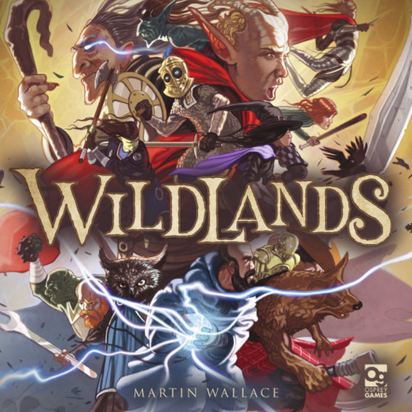 Wildlands Core Set w/ 20 Miniatures | Martin Wallace | 2-4 Players - Kickstarted Games