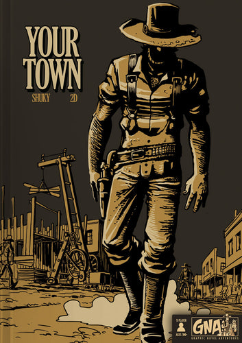 Your Town - Choose Your Own Adventure Graphic Novel | Van Ryder Games - Kickstarted Games