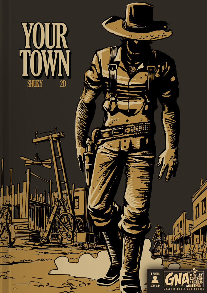 Your Town - Pick Your Path Adventure Graphic Novel | Van Ryder Games - Kickstarted Games