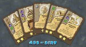 Age of Dirt: A Game of Uncivilization Board Game | Wizkidz - Kickstarted Games