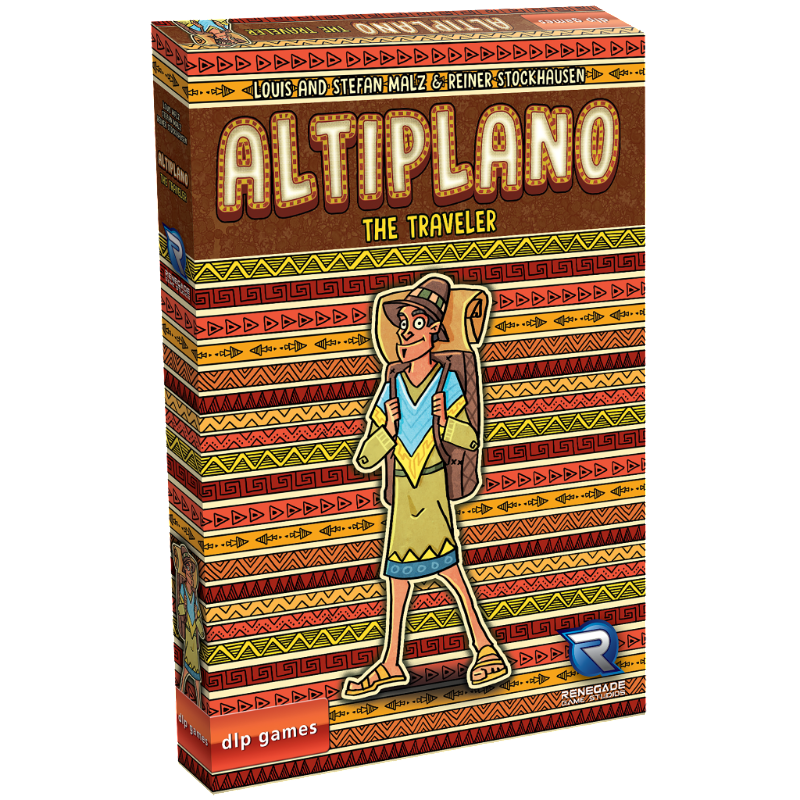 Altiplano | The Traveler Expansion Set | Renegade Game Studios - Kickstarted Games