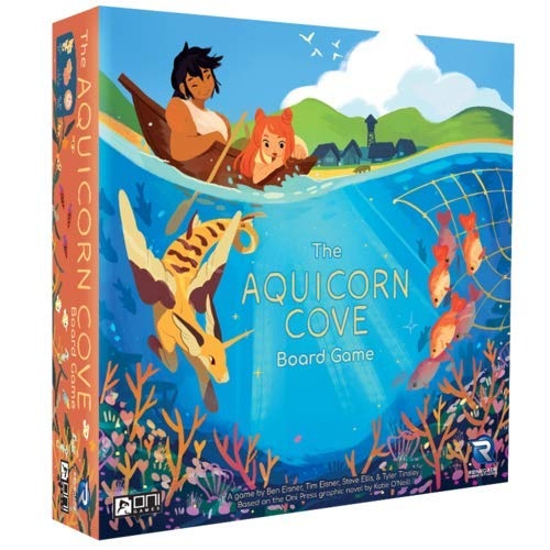 Aquicorn Cove Board Game - Kickstarted Games