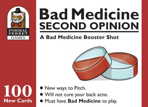 Bad Medicine Second Opinion Party Game Expansion | Formal Ferret Games - Kickstarted Games