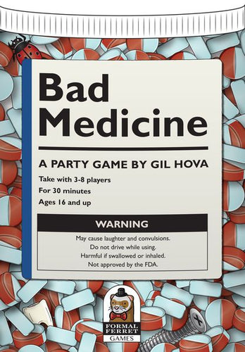 Bad Medicine Hilarious Party Game | Formal Ferret Games - Kickstarted Games
