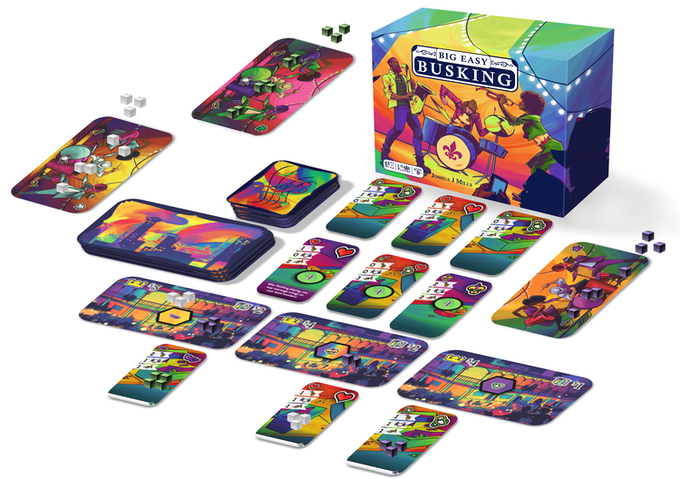Big Easy Busking Card Game - Kickstarted Games