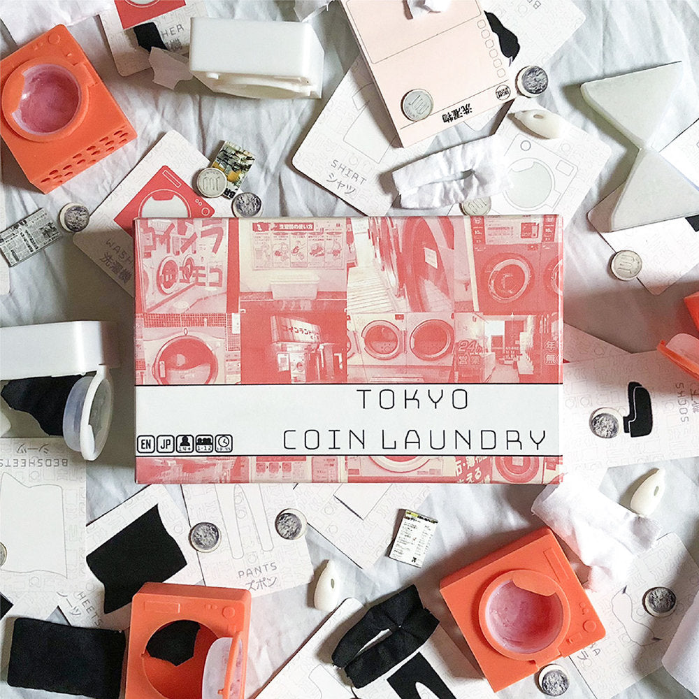 Tokyo Coin Laundry Game - Kickstarted Games