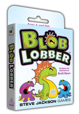 Blob Lobber Card Game | Steve Jackson Games | 2-4 Players - Kickstarted Games