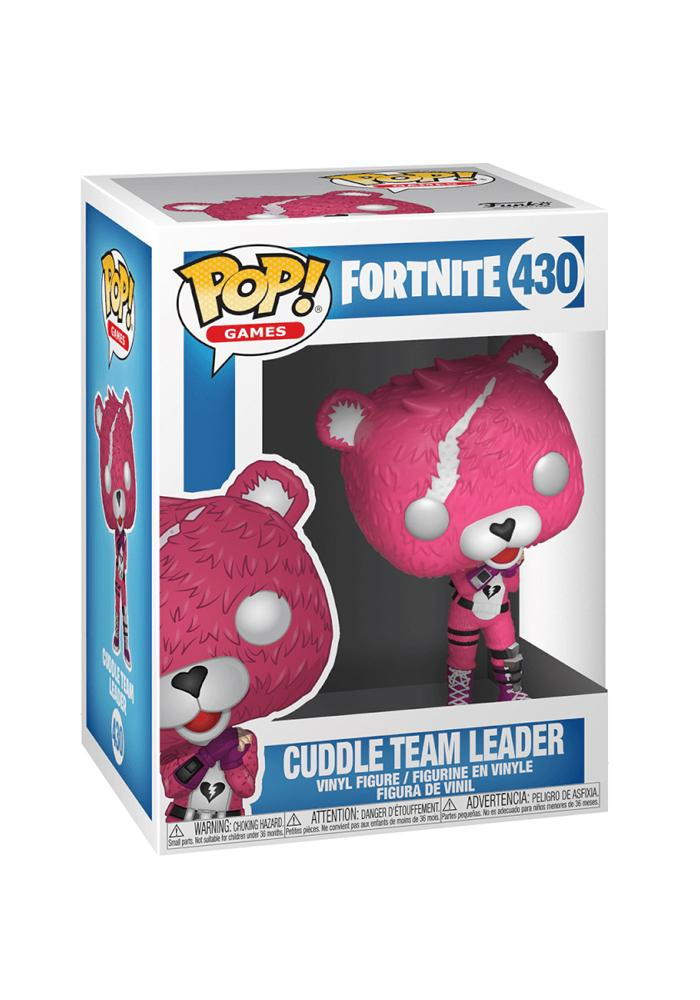 Fortnite Cuddle Team Leader Collectible Figure | Funko Pop! #430 - Kickstarted Games