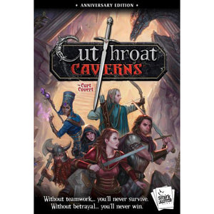 Cutthroat Caverns: Anniversary Edition | Smirk & Dagger - Kickstarted Games