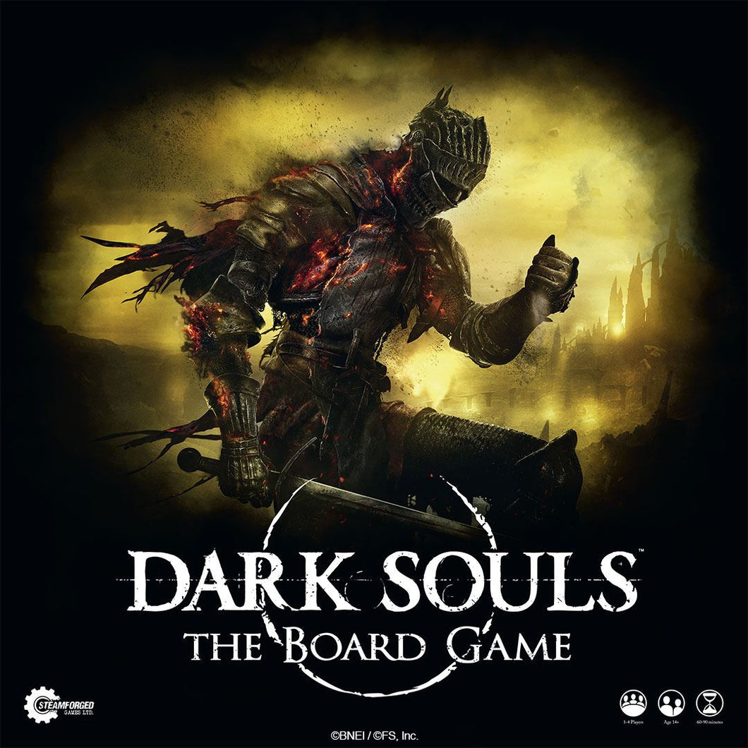 * Dinged Box * Dark Souls: The Board Game * Dinged Box * - Kickstarted Games