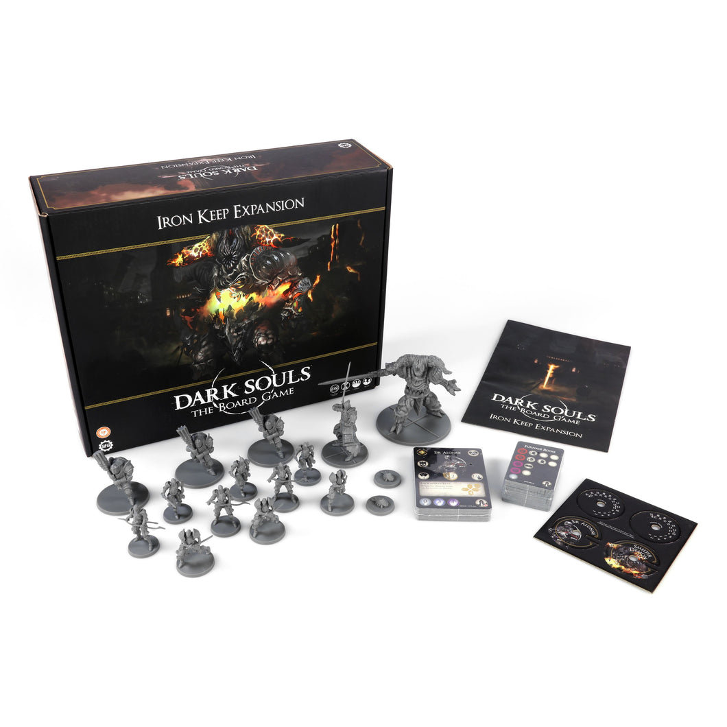 Dark Souls Board Game Iron Keep Expansion - Kickstarted Games