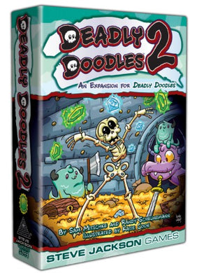 Deadly Doodles 2 Expansion - Kickstarted Games