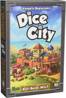 Dice City Dice Rolling Board Game - Kickstarted Games