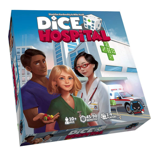 dice hospital board game