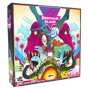 Dinosaur Island Base Game | Pandasaurus Games - Kickstarted Games