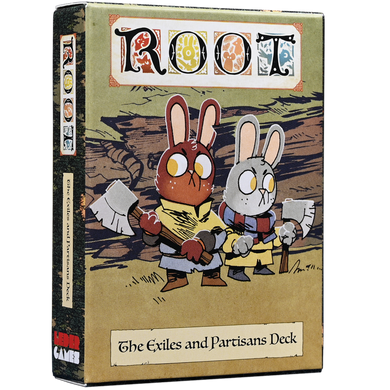 Root The Exiles and Partisans Deck - Kickstarted Games