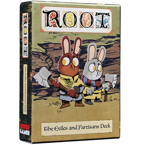 Root The Exiles and Partisans Deck - BLACK FRIDAY BLOWOUT - Kickstarted Games