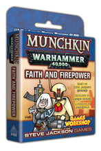 Load image into Gallery viewer, Munchkin Warhammer 40K Expansion Faith and Firepower | Steven Jackson Games - Kickstarted Games