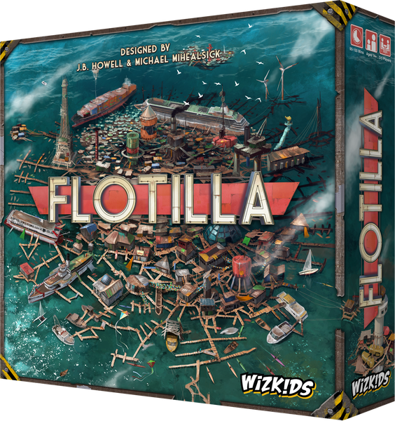 Flotilla Board Game | Wizkidz - Kickstarted Games