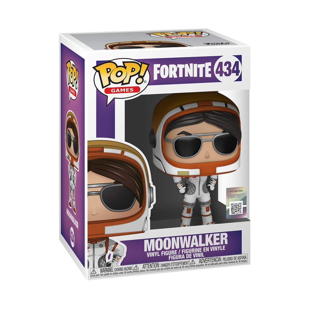 Funko Pop! FORTNITE Moonwalker Skin Collectible Vinyl Figure #434 - Kickstarted Games