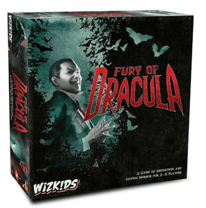Fury of Dracula 4th Edition Board Game (PREORDER) - Kickstarted Games