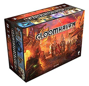 Gloomhaven Retail Edition Tabletop RPG Board Game - Kickstarted Games