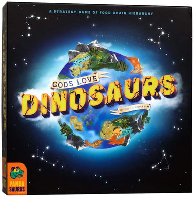 Gods Love Dinosaurs Board Game - Kickstarted Games