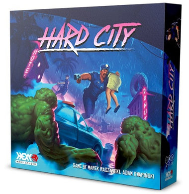 Hard City Board Game - Kickstarted Games
