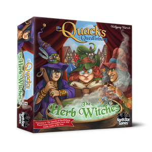 The Quacks of Quedlinburg: The Herb Witches Expansion - Kickstarted Games