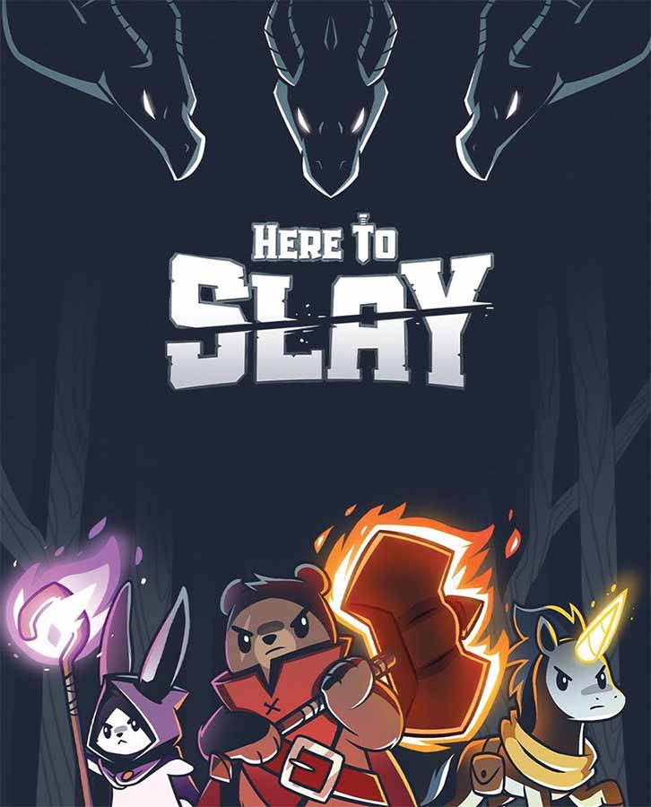 Here To Slay Card Game - Kickstarted Games