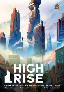 High Rise City Building Strategy Board Game - Kickstarted Games