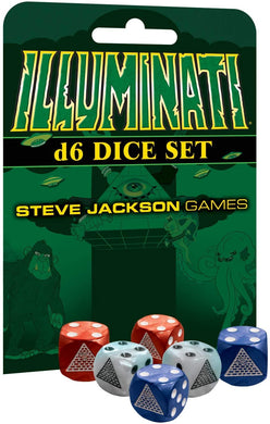 Illuminati Game D6 Dice Set - Kickstarted Games