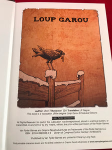 Loup Garou - Pick Your Path Adventure Graphic Novel - Kickstarted Games