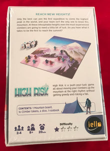 High Risk Board Game | IELLO Games - Kickstarted Games