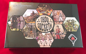 Thou Sucketh - A Not So Nice Deck Building Game - Kickstarted Games