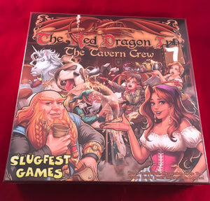 Red Dragon Inn 7: The Tavern Crew Stand-Alone + Expansion Set - Kickstarted Games