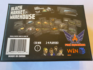 Black Market Warehouse | Fire Squadron Games - Kickstarted Games