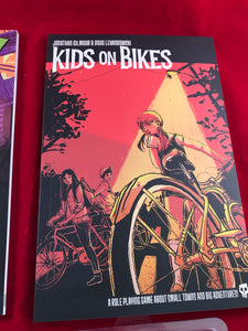 Kids on Bikes RPG Softcover Core Rule Book - Kickstarted Games
